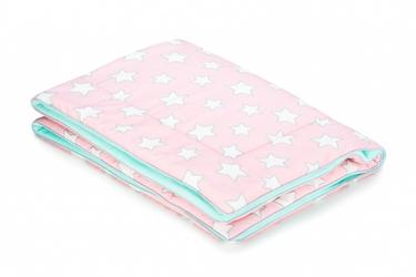 Kocyk ocieplany - pink stars