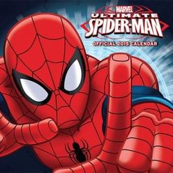 Spiderman marvel komiks - oficjalny kalendarz 2015 r.