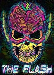 Psychoskulls, the flash, dc comics - plakat wymiar do wyboru: 40x60 cm