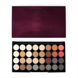 Makeup revolution ultra palette 32 zestaw cieni do powiek flawless 2 16g 32 kolory