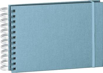 Album na zdjęcia uni mini mucho czarne karty błękitny