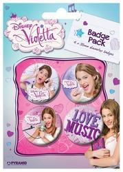 Violetta Wioletta  - przypinki
