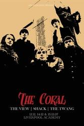 The Coral Tour - plakat