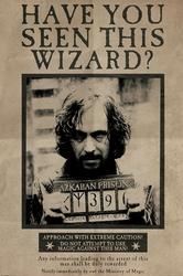 Harry potter syriusz black - plakat