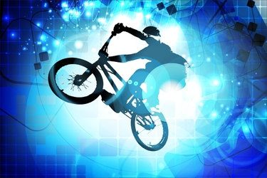 Fototapeta rower downhill 2481