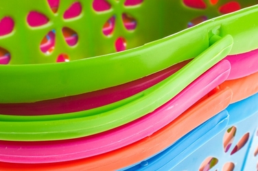 Koszyk plastikowy 16 cm mix kolorów