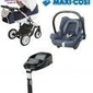Wózek milu kids starlet 4w1 fotel maxi cosi cabriofix + baza familyfix
