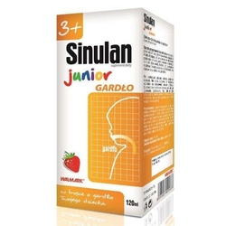 Sinulan junior gardło 120ml