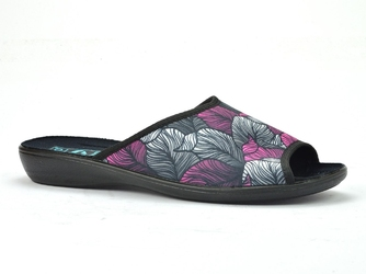 Pantofle  adanex 25455 róż