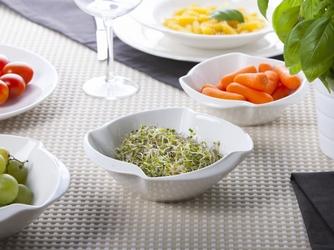 Salaterka  miska ścięty kwadrat porcelana altom design regular 15 cm
