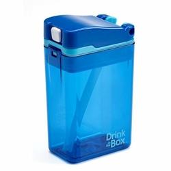 Bidon ze słomką 240 ml, Blue, Drink In The Box