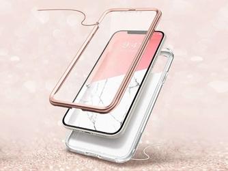 Etui ochronne supcase cosmo do apple iphone 12 mini 5.4 marble pink