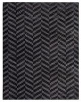 Dywan chelo charcoal 200x300 carpet decor handmade