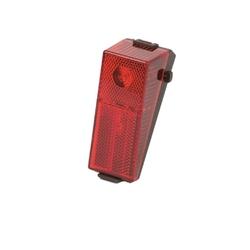Lampa rowerowa tylna de-one dynamo hl-de041