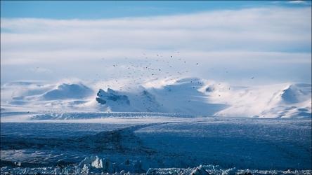 Zimowe widoki - plakat wymiar do wyboru: 84,1x59,4 cm
