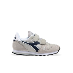 Sneakersy dziecięce diadora simple run ps - szary