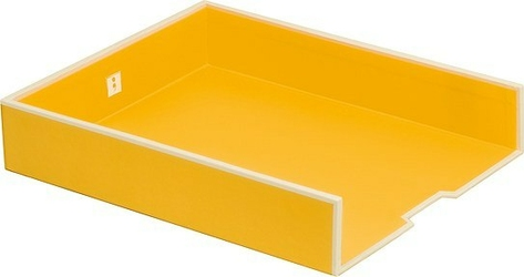 Półka na dokumenty Die Kante żółta