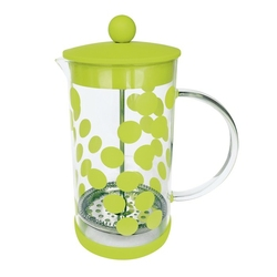 Zaparzacz tłokowy do kawy 1 l zielony zak designs