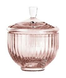 Bomboniera Lyngby szklana Burgundy 10 cm