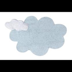 Dywan do prania w pralce puffy dream blue