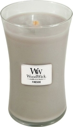 Świeca core woodwick fireside duża