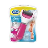 Scholl velvet smooth różowy pilnik elektryczny do stóp