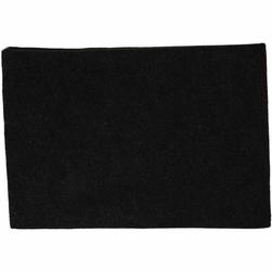 Dekoracyjny filc A4 - czarny marmurkowy - CAM