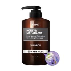 Kundal szampon do włosów - białe piżmo honeymacadamia shampoo white musk 500ml