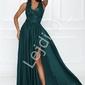 Butelkowo zielona sukienka na studniówkę, wesele - juliette 2