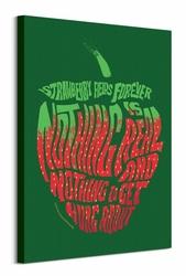 Lennon amp; McCartney Strawberry Fields Forever - obraz na płótnie