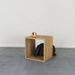 Loft decora :: regał modułowy drewniany open box szer. 45 cm