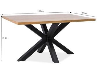 Stół do jadalni rabo m 150x90 cm dąb sonoma