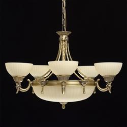 Wyjątkowy żyrandol na 8 żarówek afrodyta mw-light classic 317010708