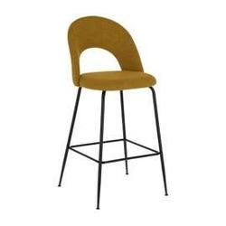 2modern :: krzesło barowe  hoker tapicerowane rotura żółto - czarne