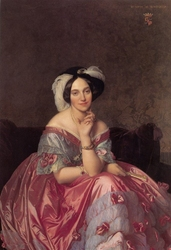 Reprodukcja portrait of the baronness james de rothschild, jean auguste dominique ingres