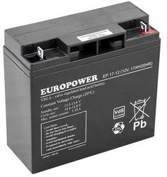 Akumulator europower serii ep 12v 17ah żywotność 6-9lat - szybka dostawa lub możliwość odbioru w 39 miastach