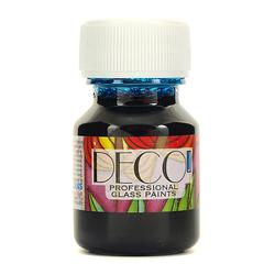 Witrażowa farba do szkła DECO 30 ml - błękitna - BŁĘ