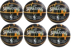 Piłka do koszykówki spalding nba marble usa outdoor - 6 sztuk