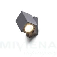 Dazoom kierunkowa antracyt  230v350ma led 7w 94
