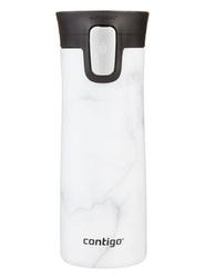 Kubek termiczny contigo pinnacle couture 420ml - white marble - biały