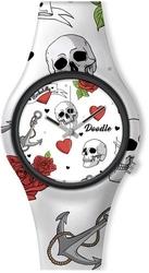 Doodle skull mood dota004