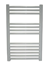 Grzejnik łazienkowy york - wykończenie proste, 600x800, białyral - paleta ral