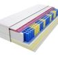 Materac kieszeniowy zefir molet max plus 190x195 cm miękki  średnio twardy 2x visco memory