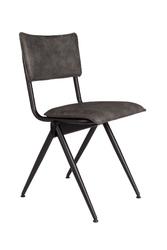 Dutchbone :: krzesło tapicerowane willow antracytowe