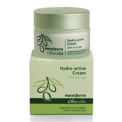 Macrovita olive-elia hydro-active krem aktywnie nawilżający z bio-składnikami cera tłusta lub normalna 50ml - 50ml