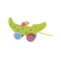 Krokodyl zabawka do ciągnięcia