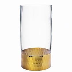 Wazon szklany na kwiaty altom design golden honey 20 cm