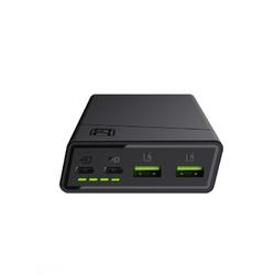 Green cell powerbank powerplay20 20000mah,2xusb-c pd 18w