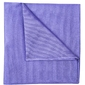 Poszetka jedwabna 28x28cm, kolor liliowy