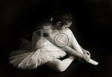 Obraz mały tancerz baletowy
